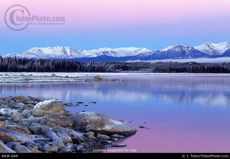 Alaska Winter Landscape