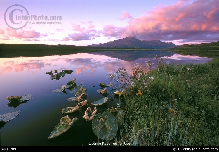 Engineer Lake at Sunset