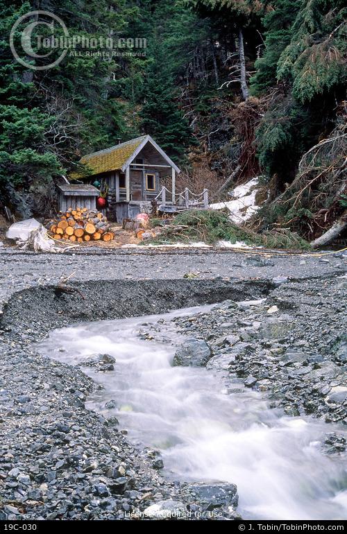 Alaska Log Cabin