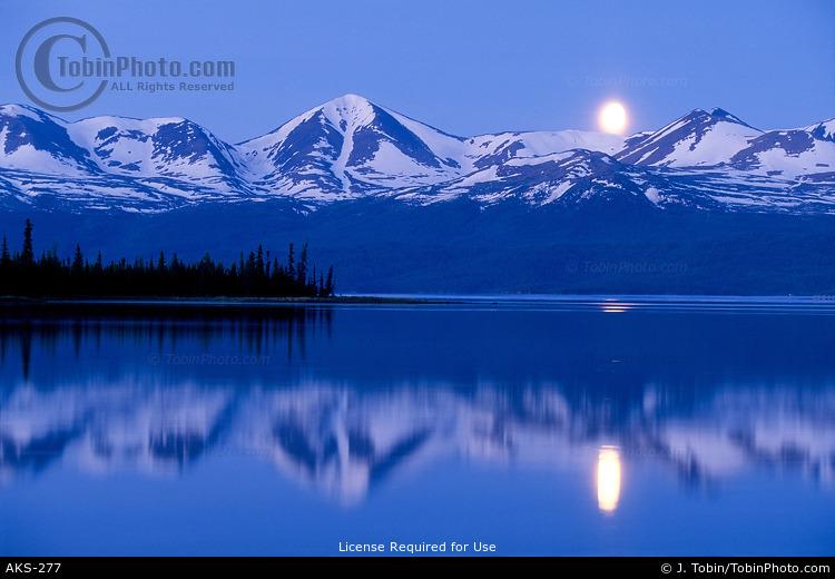 Blue Moon Landscape