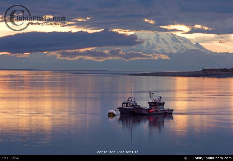 Boats on the Kenai