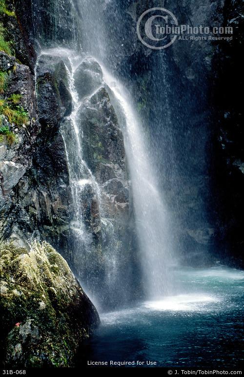 Coastal Alaska Waterfall