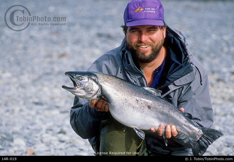 Coho Salmon Fishing