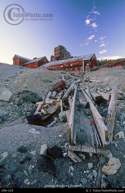 Mill at Kennecott Mine