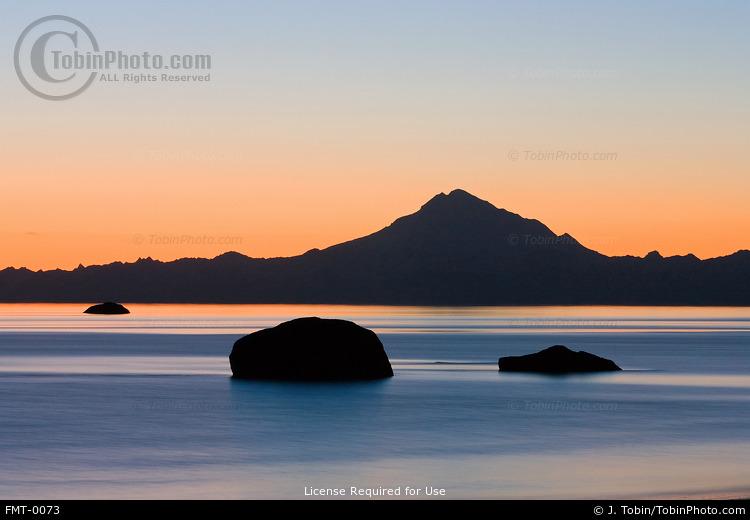 Mt. Redoubt & Cook Inlet