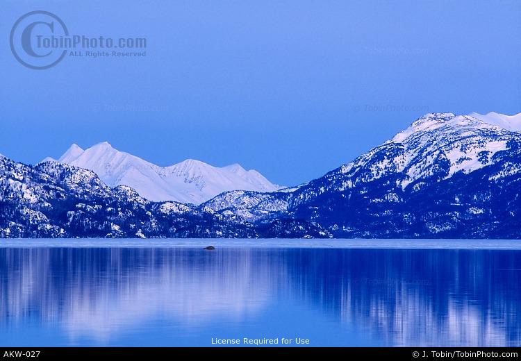 Skilak Lake During Winter