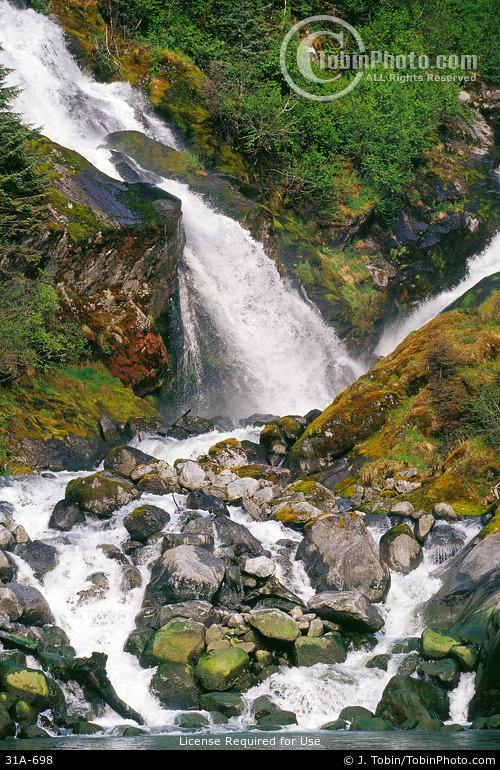 Southeast Alaska Waterfall