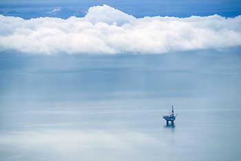 Cook Inlet Oil Platform