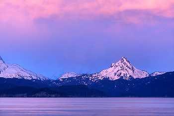 Kachemak Bay Alpenglow